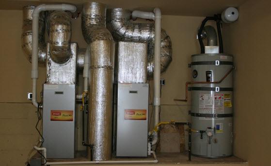 HIgh-efficiency condencing furnaces