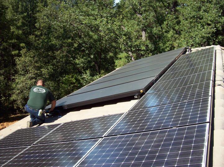 All Year AH Solar Panel Systems