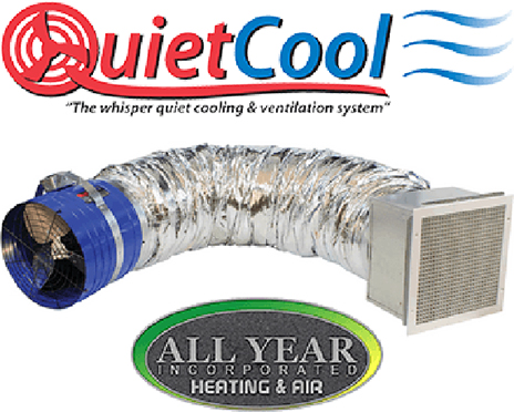 The QuietCool Whole House Fan