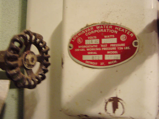 Old Electric Water Heater